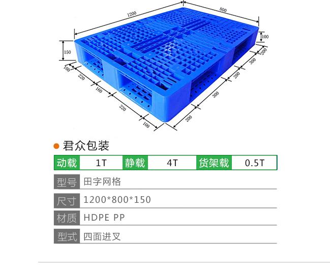 山东君众包装有限公司将来分析托盘在包装行业中的作用