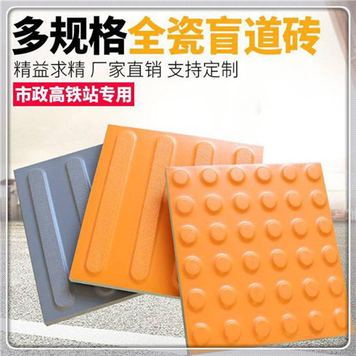 广安市200×200彩色广场砖 灰色隧道砖 盲道砖生产厂家