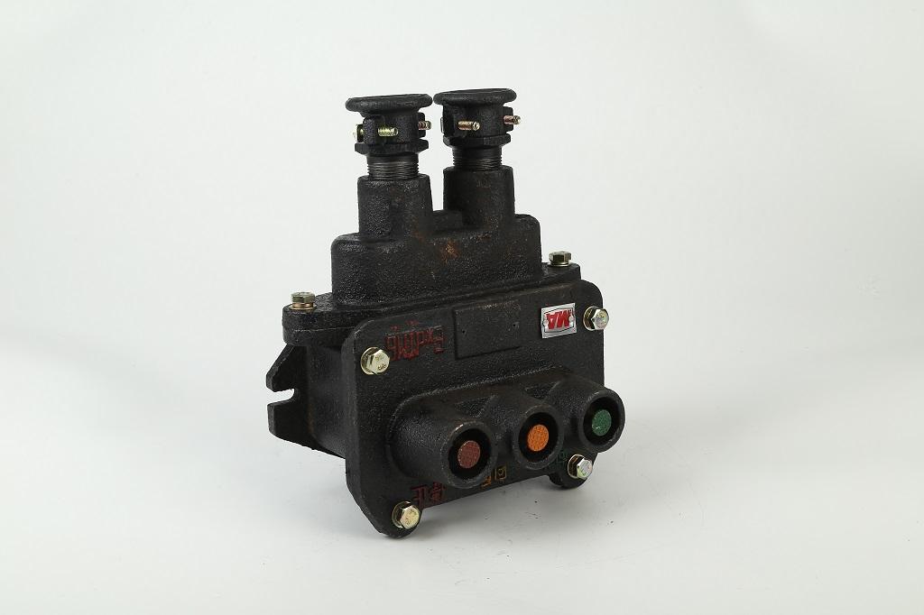 控制按钮BZA1-536-3 矿用隔爆三联按钮