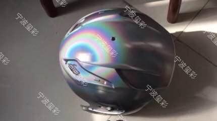 镜面电镀效果镭射铝银浆