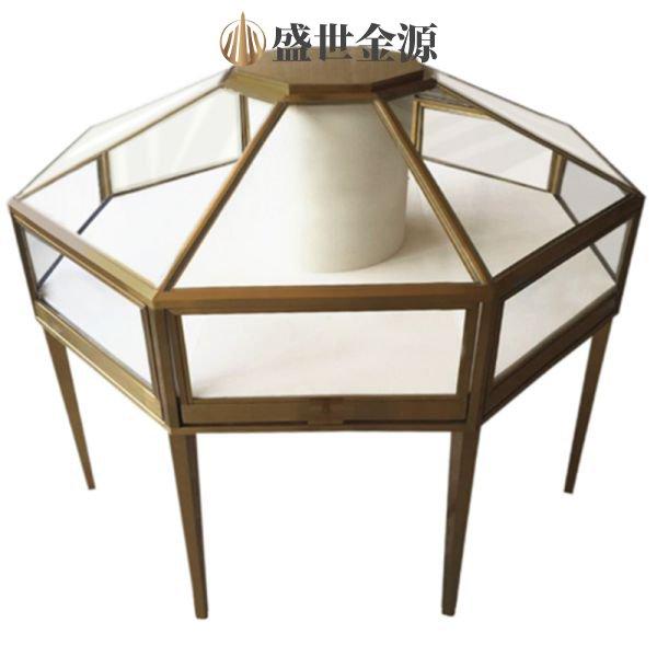 惠州珠��多�形不�P�展示柜