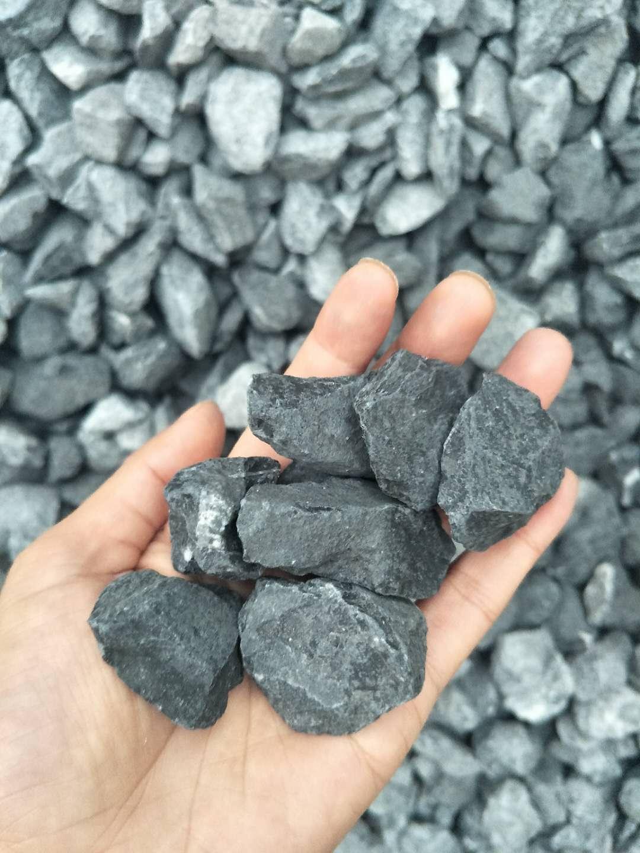 黑色砾石 建筑机制透水小碎石子 工程铺路石