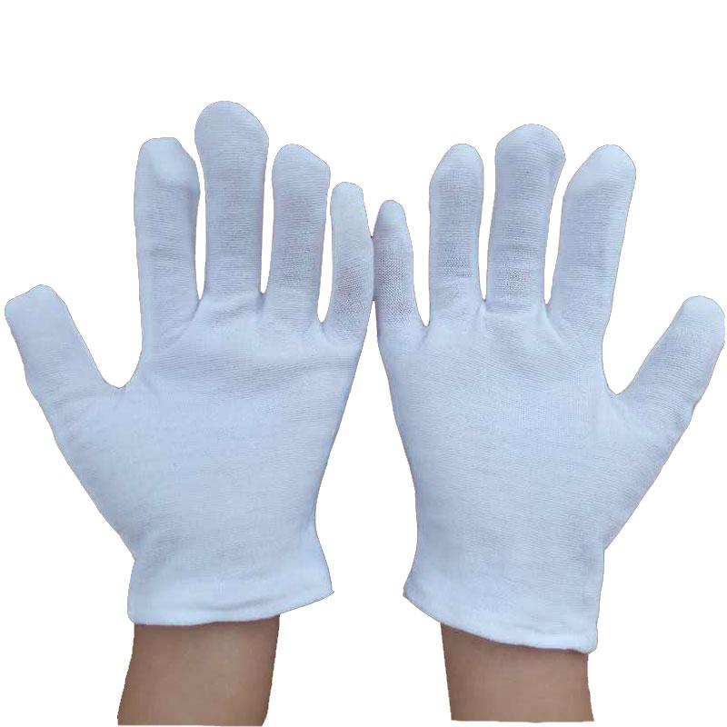 儿童表演白手套