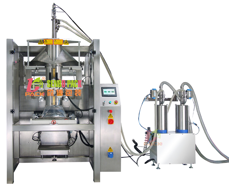 多功能液体专用包装机 酱料行业专用袋食用油液体自动包装机