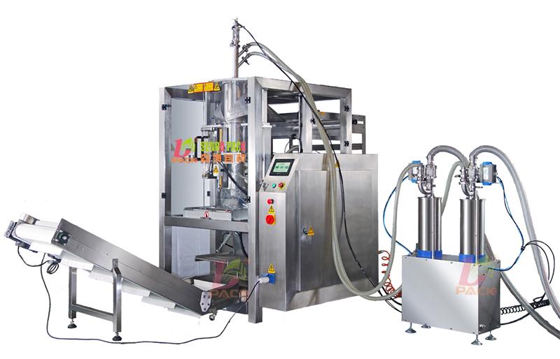 液体专用制袋填充立式包装机水性打印膜灌装机 液体包装机