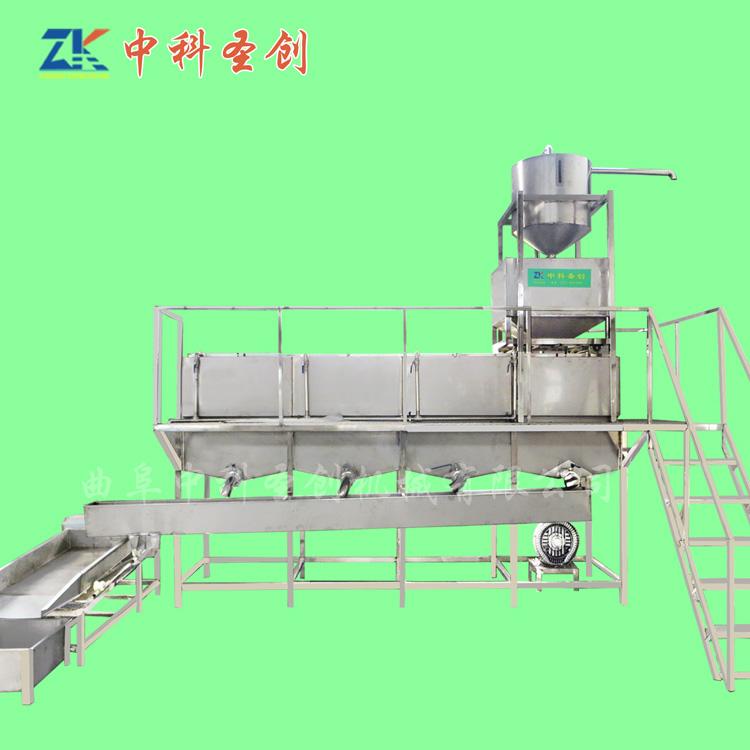 不锈钢大型泡豆线系统 铁山港区泡豆线 自动分豆吸豆泡豆线