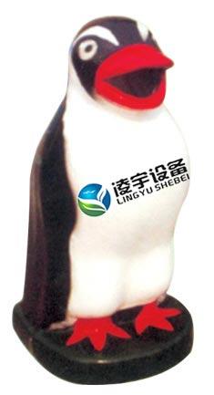 供应四川足球造型玻璃钢垃圾桶
