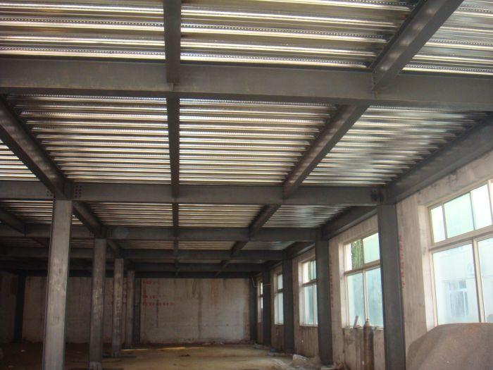 北京顺义区室内隔层楼板搭建挑空二层钢结构施工做