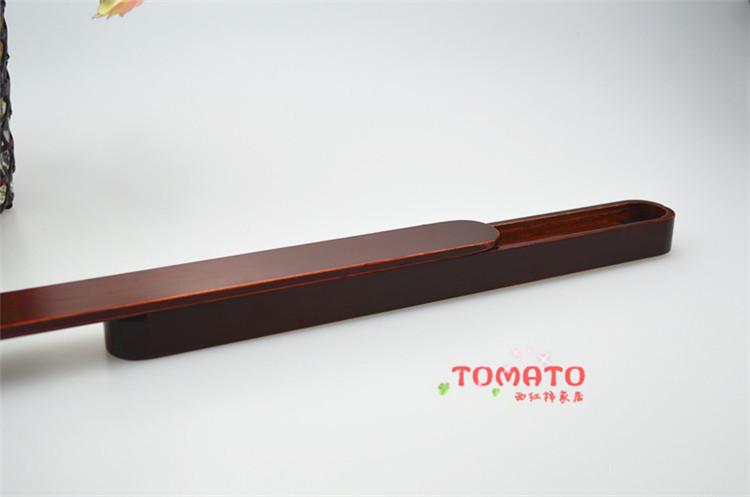 tomato批发定制日式木质筷子盒方便携带学生装