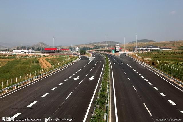 翔安高速公路标线划线设计