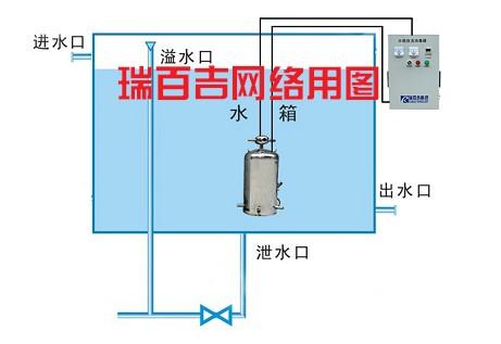 高位水箱自动供水电路图