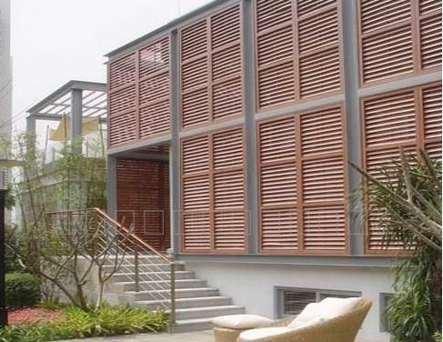 绿保生态木---百叶窗