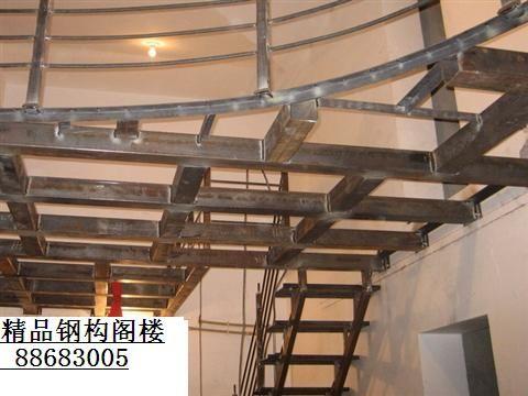 北京专业室内夹层阁楼搭建底商钢结构隔层夹层施工