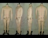男装板房人台、男装制衣公仔