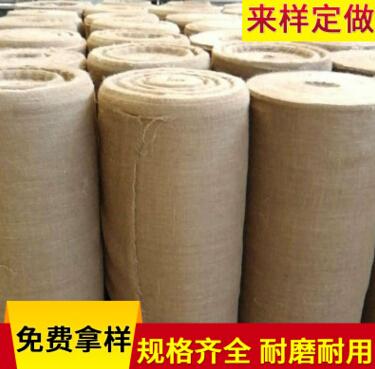 供应环保耐磨天然黄麻布卷