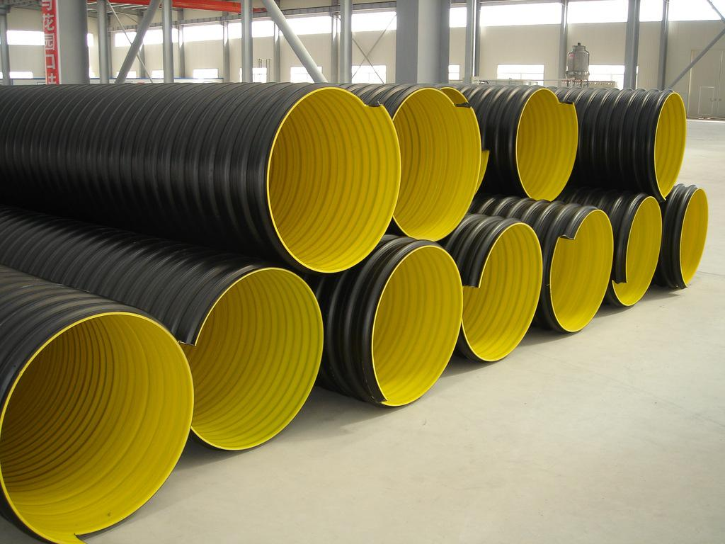 钢带波纹管,波纹管生产厂家大量供应钢带增强螺旋波纹管