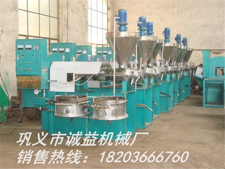 溆浦县大豆榨油机多年生产经验