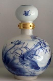 景德镇陶瓷酒瓶定做造价青花陶瓷酒瓶批发走量