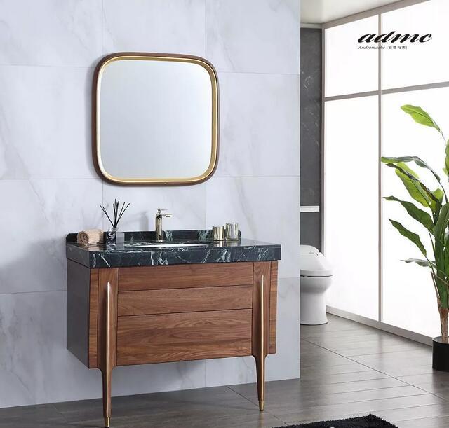 安德玛索星辰系列实木浴室柜整体浴室柜