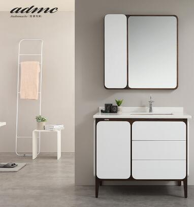 安德玛索艺术实木浴室柜现代简约风格E14