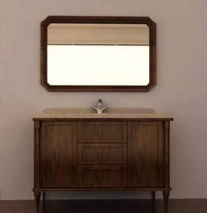 高第浴室柜温馨优雅的新中式留园系列