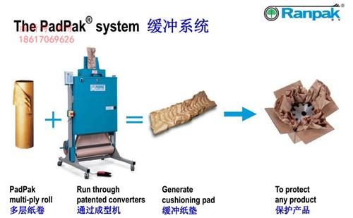 广东广州海珠工艺品环保纸垫、褶皱牛皮纸成型机威斯特包装