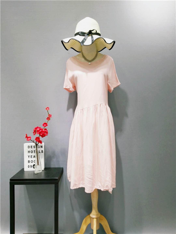 广州伊曼服饰品牌折扣女装批发,尾货市场,麻本色品牌女装