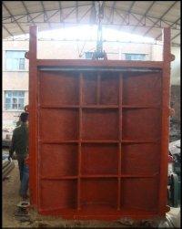 徐州启闭机厂家 供应2.2m*2.2m 铸铁镶铜闸门 按图纸定做2.2米*2.2米铸铁镶铜闸门