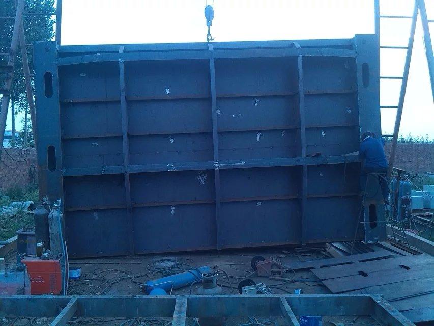 辽宁启闭机厂供应2*2.5米钢制闸门 按图纸定做钢闸门 清污机拦污栅
