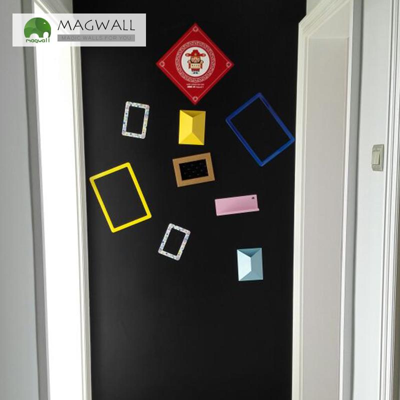 磁善家厂家直销居家可涂鸦无味磁性黑板墙贴