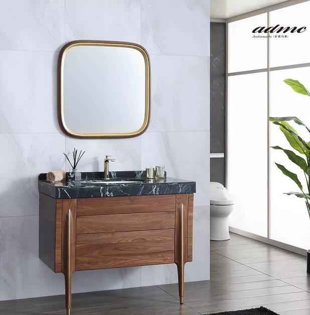 安德玛索艺术实木浴室柜新品M30