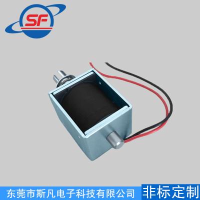 SF-1249S道闸门智能锁直流框架推拉式电磁铁