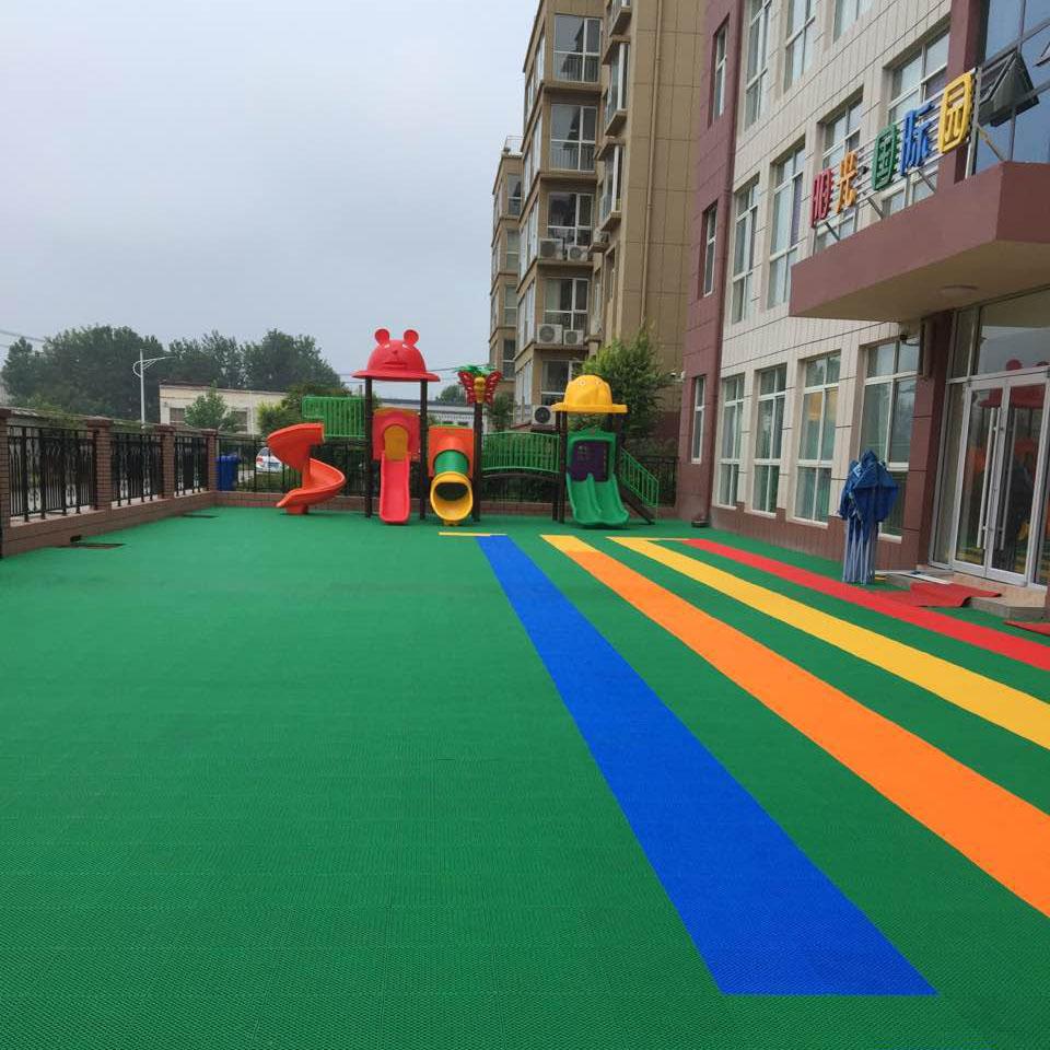 临沂悬浮拼装地板a临沂幼儿园悬浮地板a临沂双层拼装地板