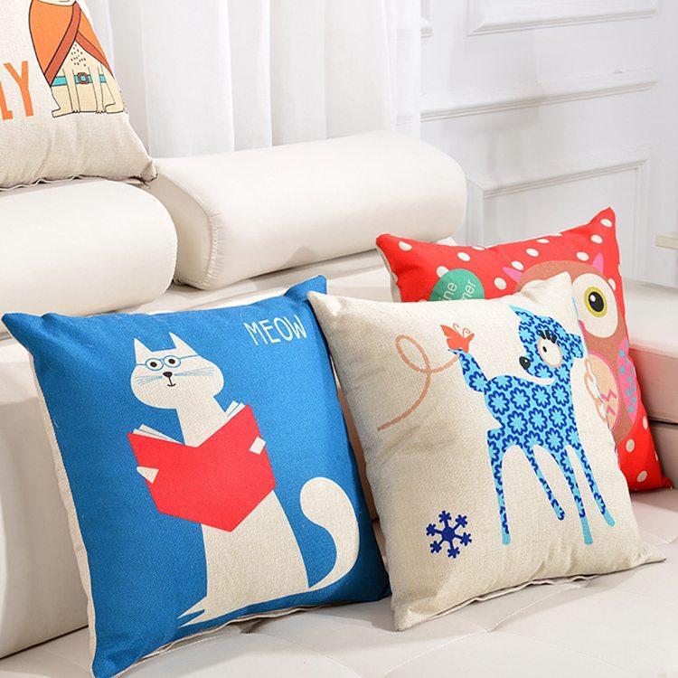 抱枕厂家加工定制异形抱枕 动物猫公仔抱枕 来图加logo定制