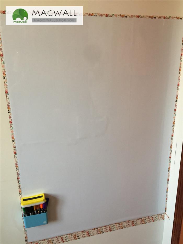 供应磁善家办公教学多用双层结构PET膜磁性软白板