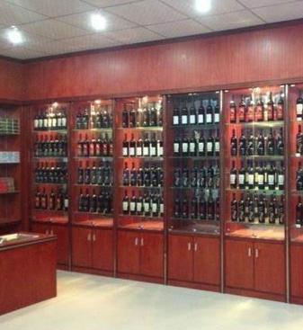 成都烟酒展柜10年品质生产成都烟柜酒柜设计制作