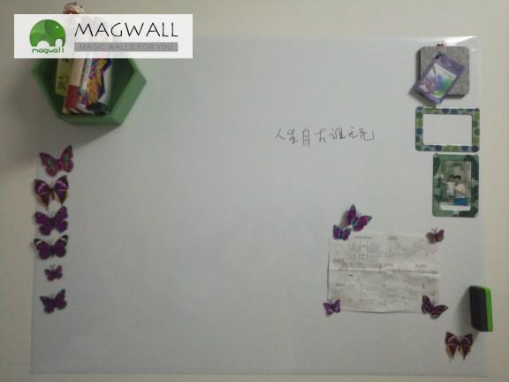 供应磁善家magwall居家装饰可擦写磁性白板贴