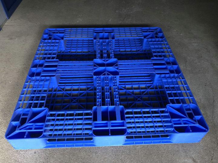 田字托盘塑料托盘塑料卡板地台板仓储运输叉车塑料板蔚华塑胶