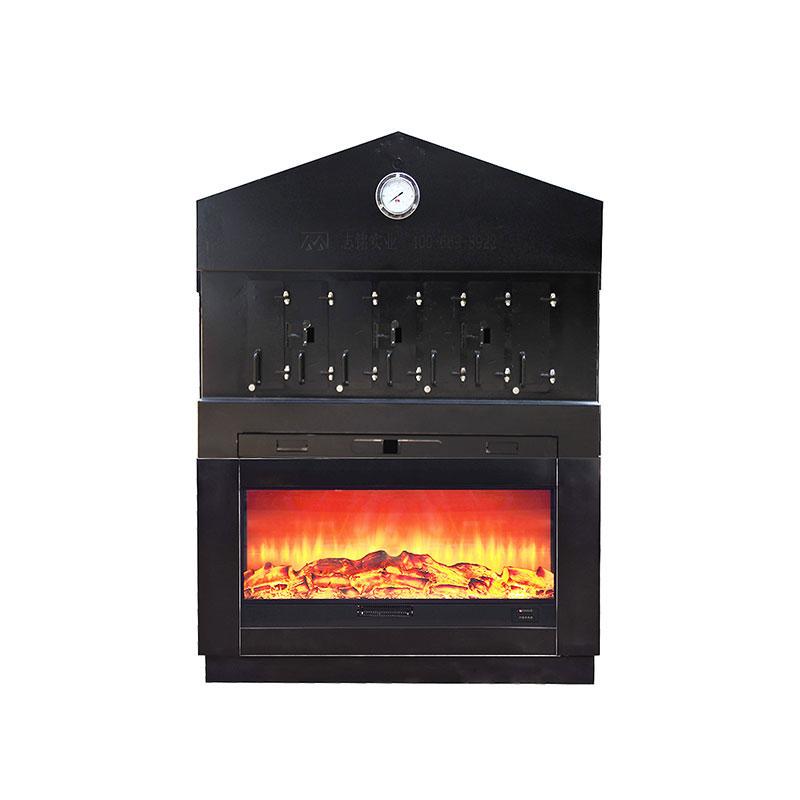 孔匠烤鱼炉 炭火烤鱼炉3口 烧烤机器 烤鱼设备 餐饮设备