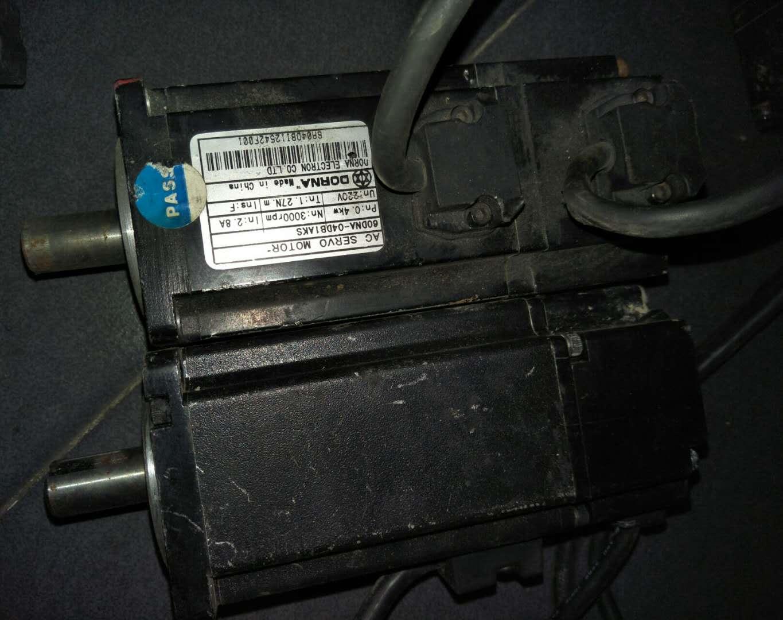 拆机台达伺服电机现货 ECMA-C30807PS 议价