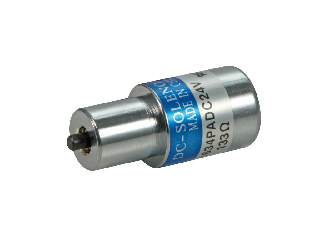 织领机电磁铁1634T现货批发 圆管式电磁铁可定制