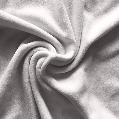 厂家供应毛巾布 口水巾鞋帽材家纺面料 单面毛巾布