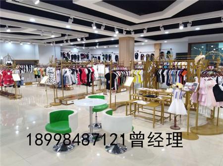 广州银马批发市场品牌童装折扣尾货货源走份批发