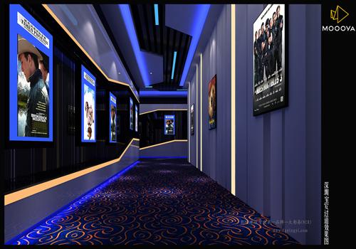 商用尼龙印花电影院满铺地毯