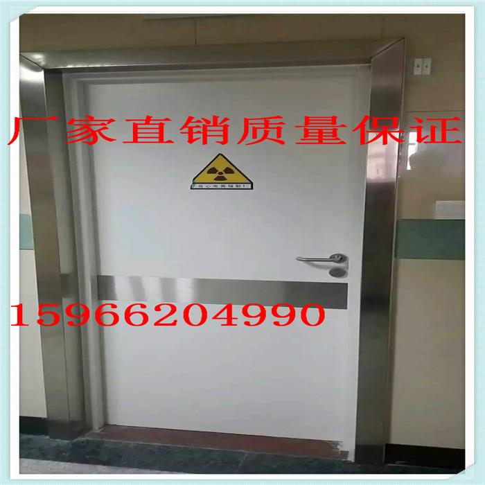 2mm铅板CT室防辐射铅门每平方重量多少