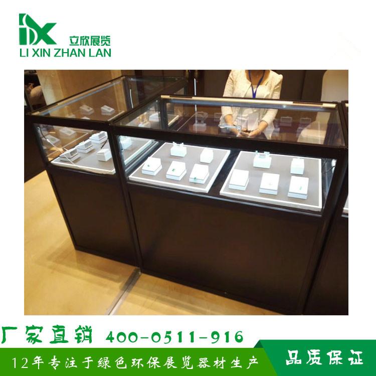 订做 高档钛合金展柜 铝合金折叠柜 珠宝展柜 展览展柜
