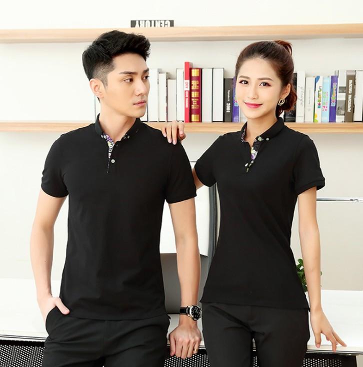 昆明广告衫mianfei设计量大从优批发定制logo紫荆花高端款式