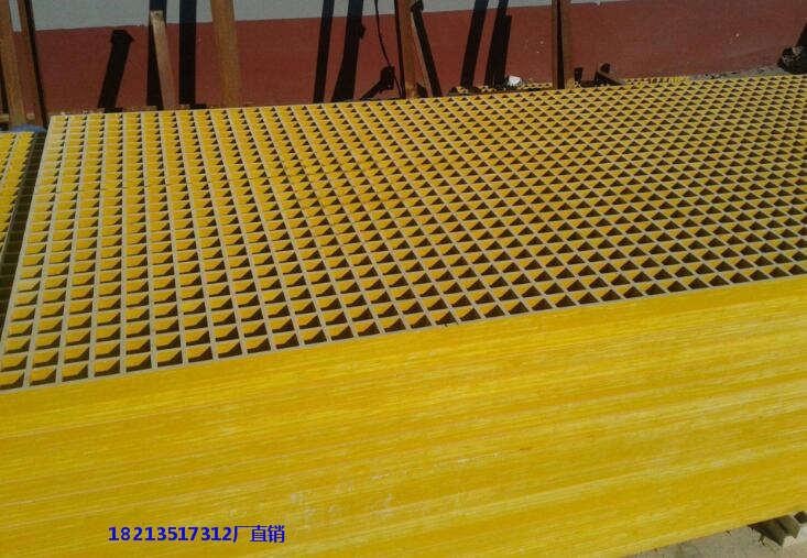 文山州文山县化学处理车间地沟玻璃钢格栅盖板