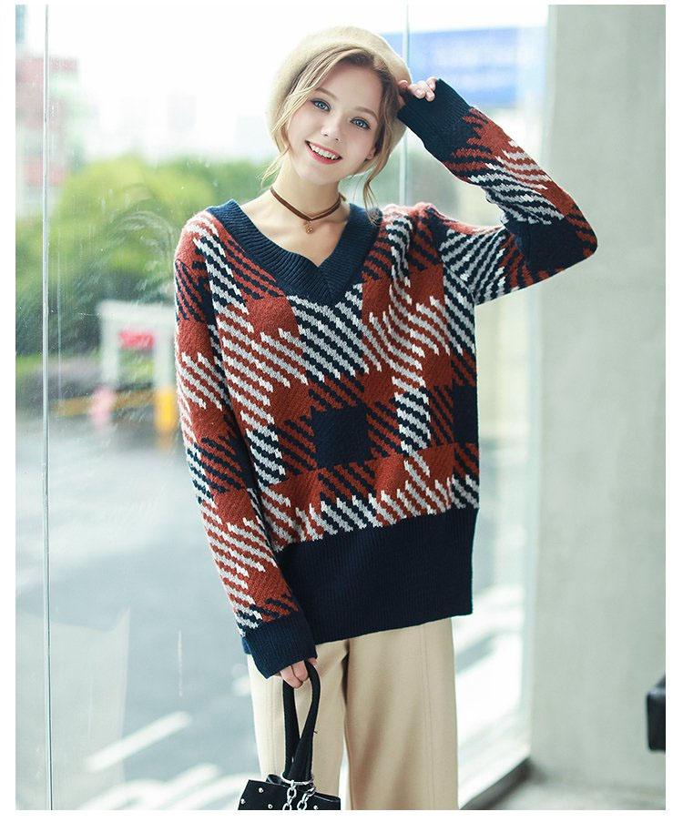 女款针织羊毛衫加工生产厂家