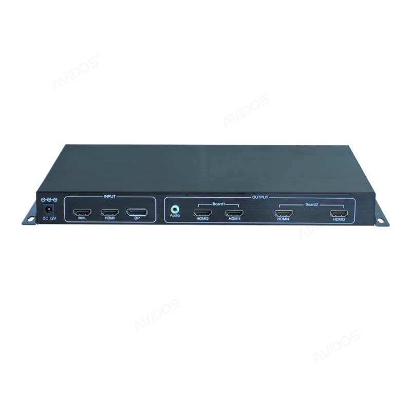 中卜 LCD液晶拼接电视墙 4K超高清 HDMI画面拼接器